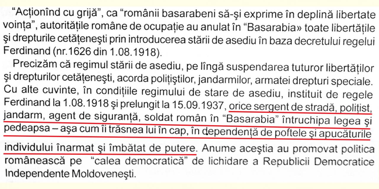 Jandarmul român, mitul fondator negativ în relația cu Basarabia
